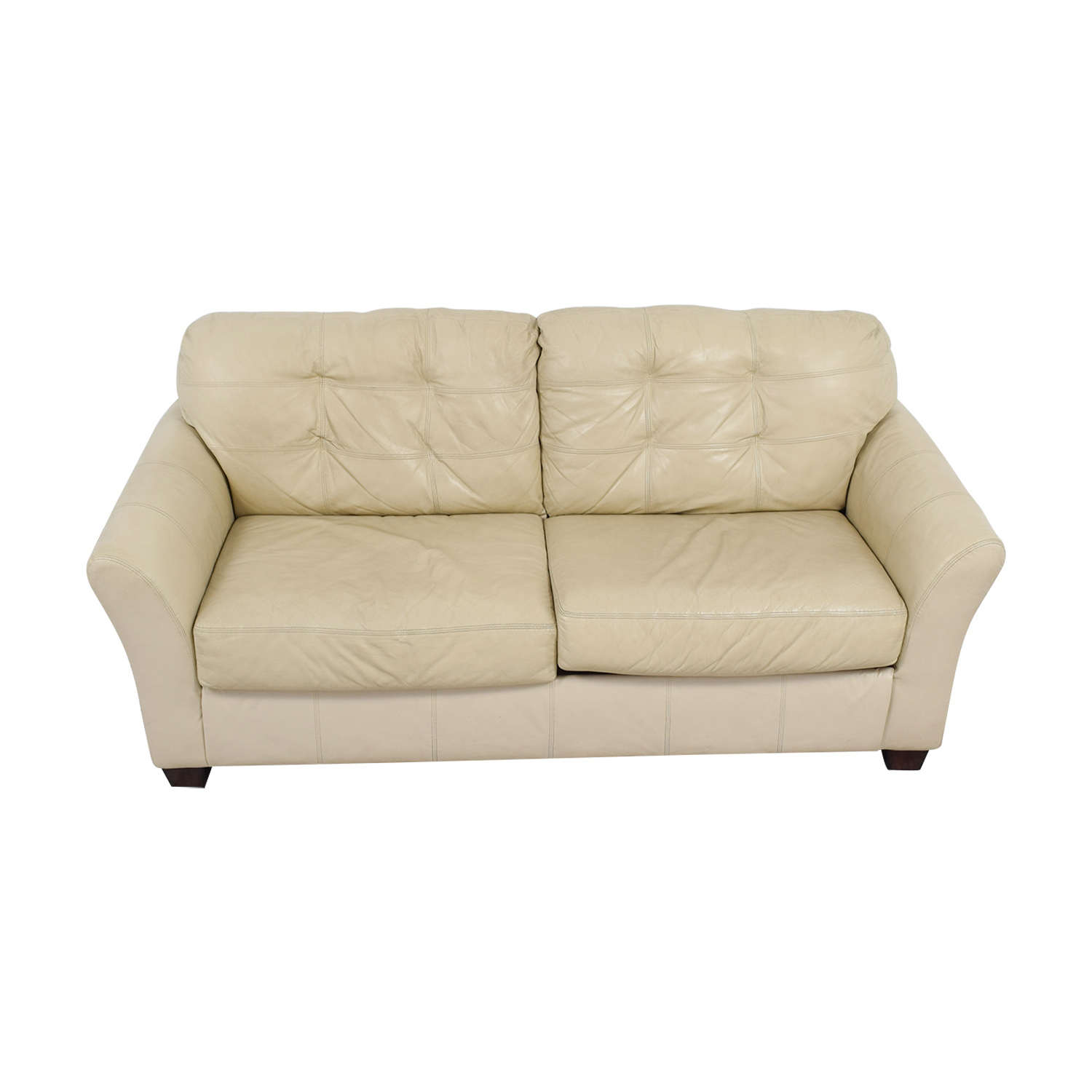 Cream Leather Sofa Coconut Grove Leather Sofa In Cream Tommybahamahome