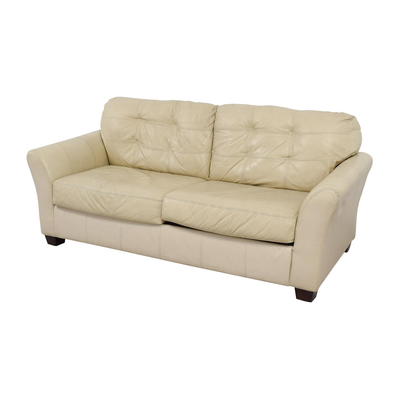 Cream Leather Sofa Coconut Grove Leather Sofa In Cream Tommybahamahome