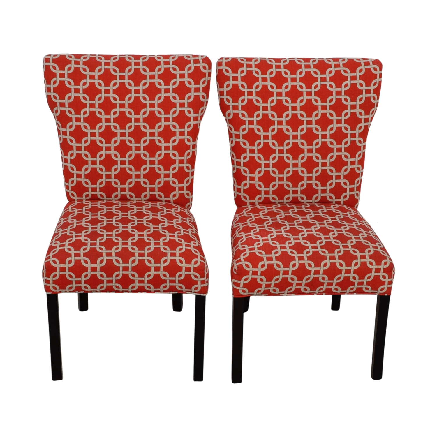 Red And White Accent Chair 67 Off Red And White Accent Chairs Chairs