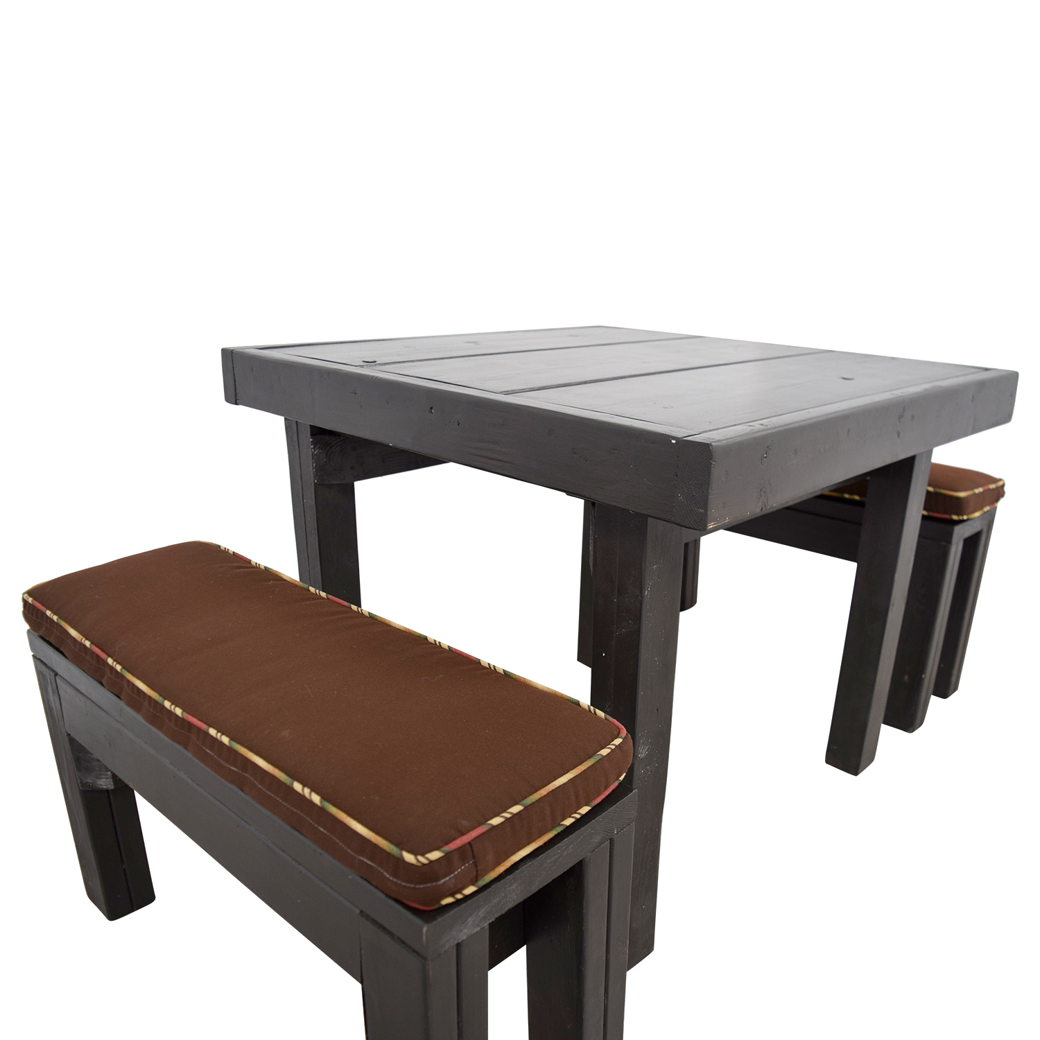 ballard designs dining chair cushions pressed back kitchen chairs 90 off design modern rust table