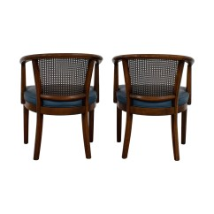 Mid Century Modern Cane Barrel Chairs Dining Room Chair Covers High Back 41 Off Gold And Red Wide Accent Vintage Navy Coupon