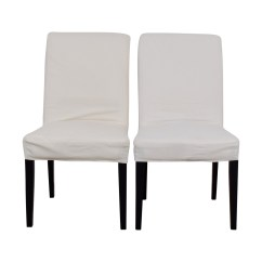 White Chair Ikea Double X Back Dining 50 Off Ingolf Chairs Hendriksdal