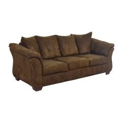 Navasota Charcoal Sofa Ashley Furniture Modern Splitback Linen Fabric Convertible Sleeper Futon At Palladum Reclining