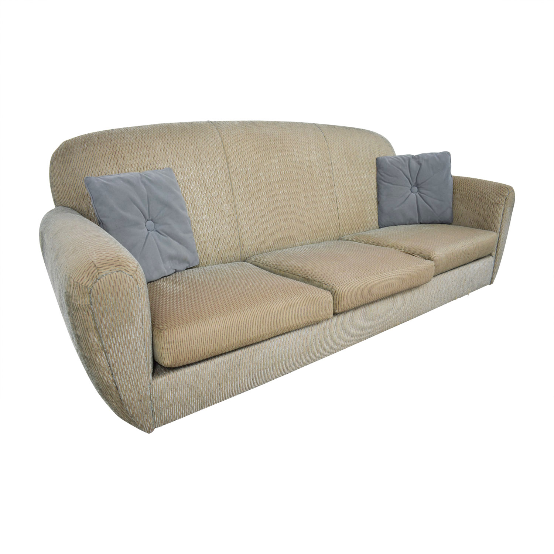 colored sofas sofa pillows design 90 off green multi three cushion