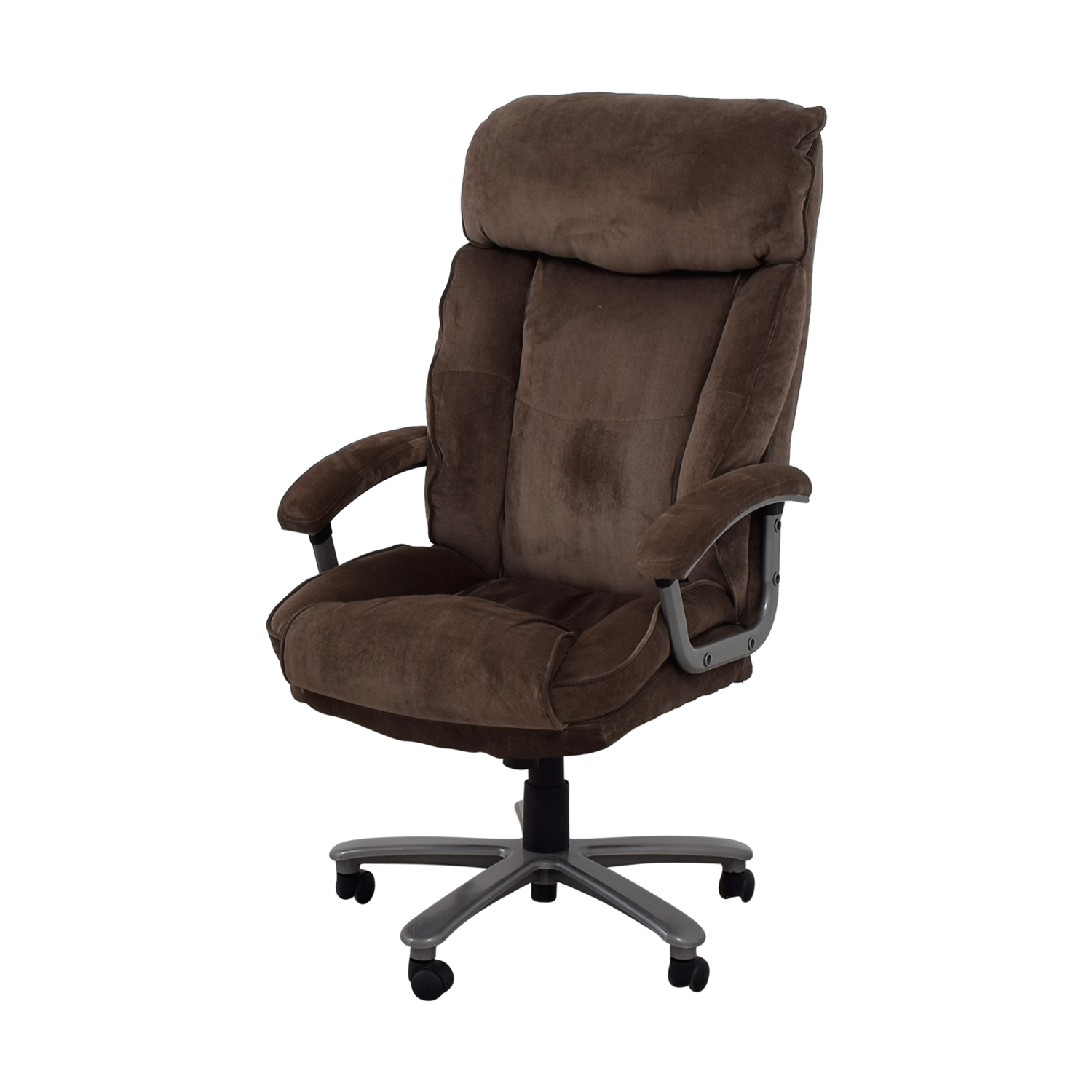 78 OFF  Office Depot Office Depot Grey Office Chair  Chairs