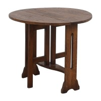 73% OFF - Antique Expandable Mission Coffee Table / Tables