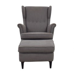 Ikea Chair With Ottoman Baby Bjorn High Chairs Used For Sale