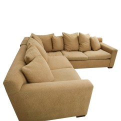 Feather Filled Sofas Second Hand Sofa Bed Furniture Row 89 Off Ralph Lauren Down Tan