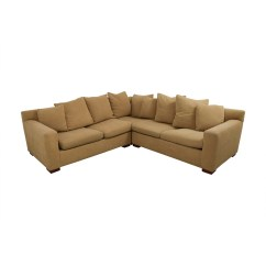 Feather Filled Sofas Second Hand My Deco Sofa Beds 89 Off Ralph Lauren Down Tan
