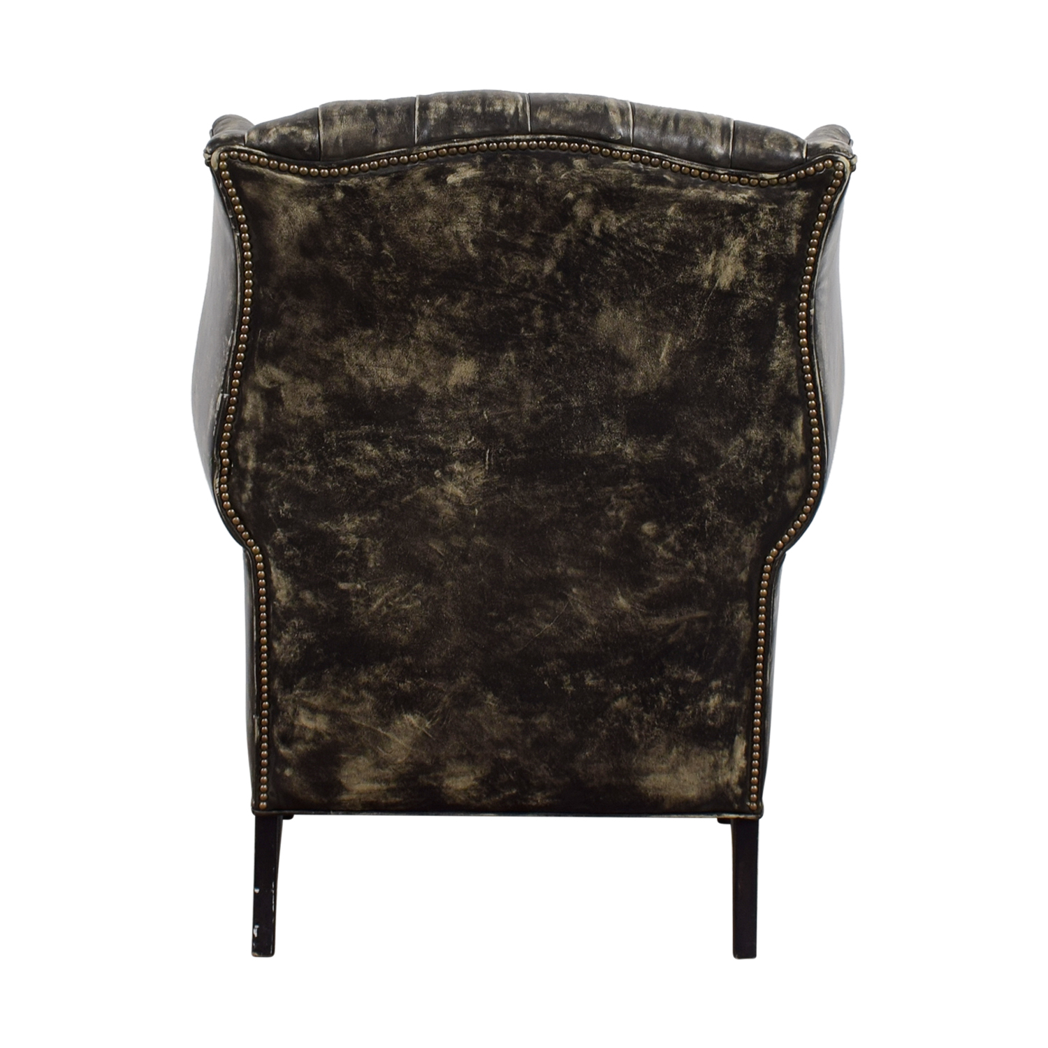 distressed black dining chairs bridal shower chair rental 33 off restoration hardware