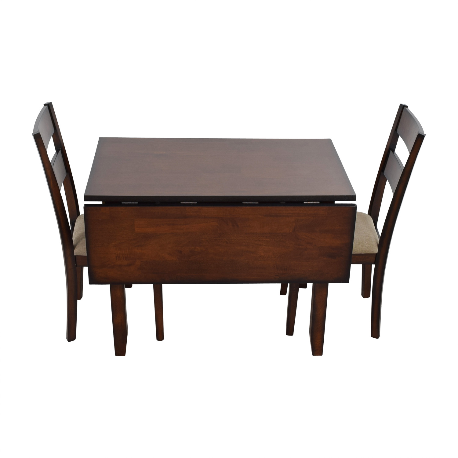 Drop Leaf Table With Chairs 65 Off Ifm Ifm Drop Leaf Table With Two Chairs Tables