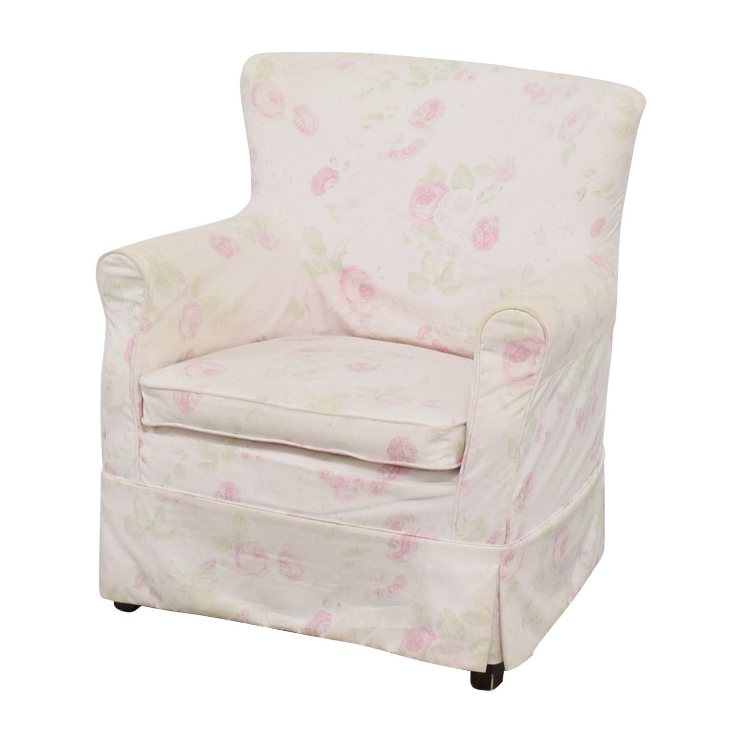 rose sofa slipcover navy blue leather and loveseat 90 off accent chair chairs