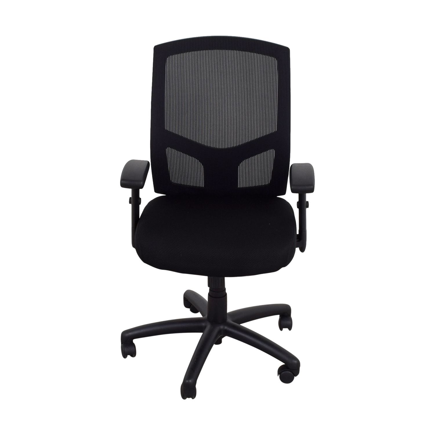 Black Office Chairs 87 Off Offices To Go Offices To Go Black Office Chair