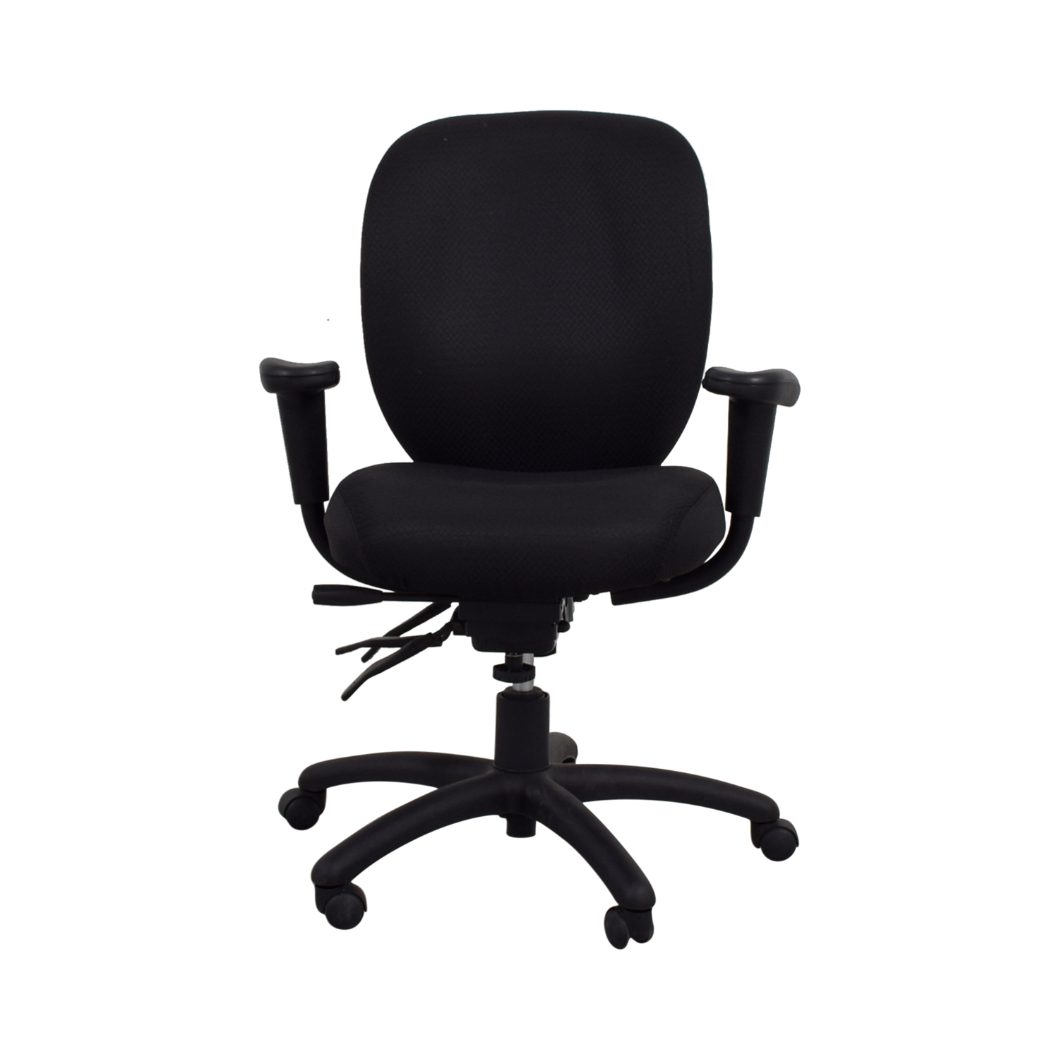 Black Office Chairs 90 Off Offices To Go Offices To Go Black Quilt Office
