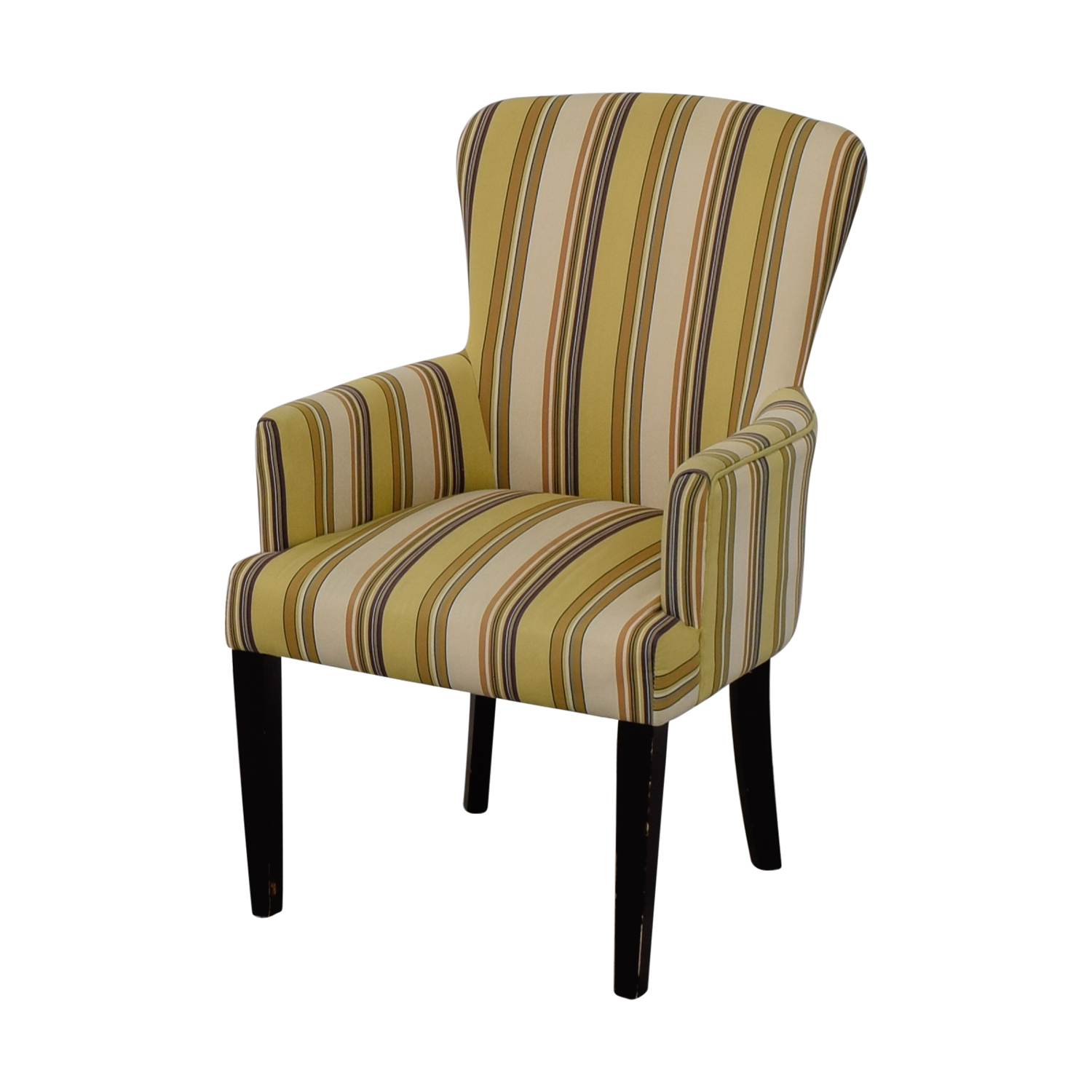 accent chair yellow gaming 5 1 surround sound 49 off world market multi striped