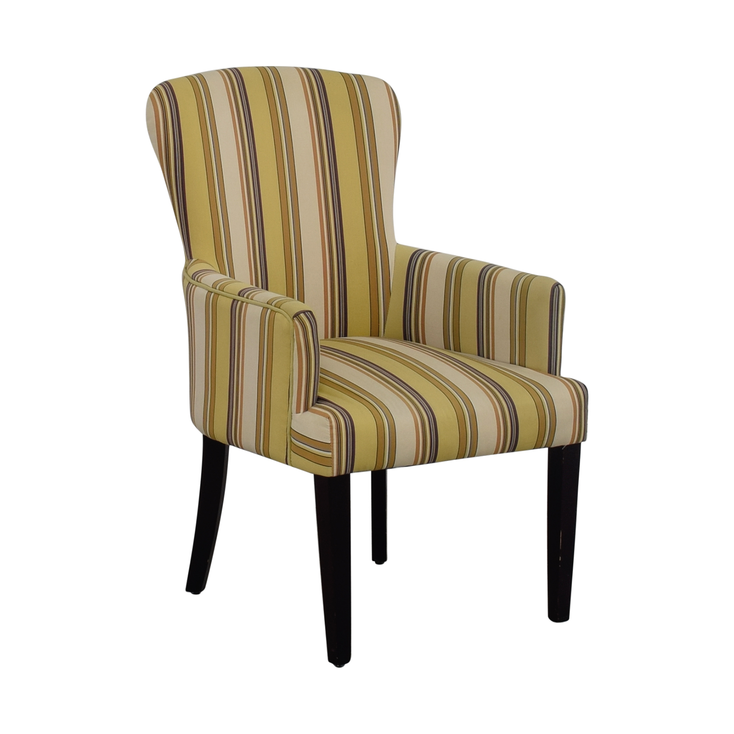 Multi Colored Accent Chairs 49 Off World Market World Market Multi Yellow Striped