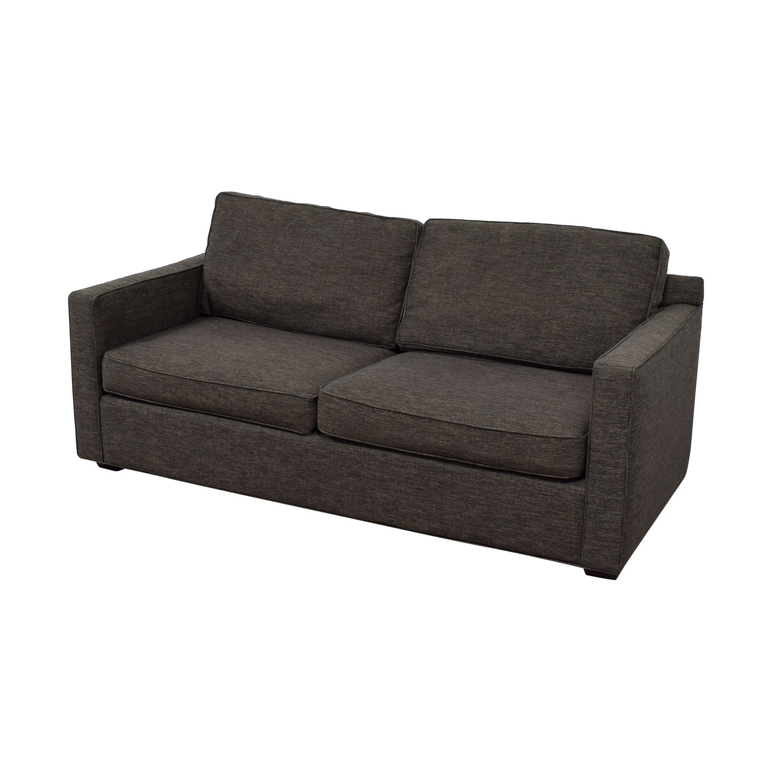 crate and barrel lounge sofa pilling best beds for small rooms 63 off davis grey two