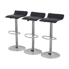 Black Chairs Target Arm Covers For 88 Off Adjustable Bar Stools