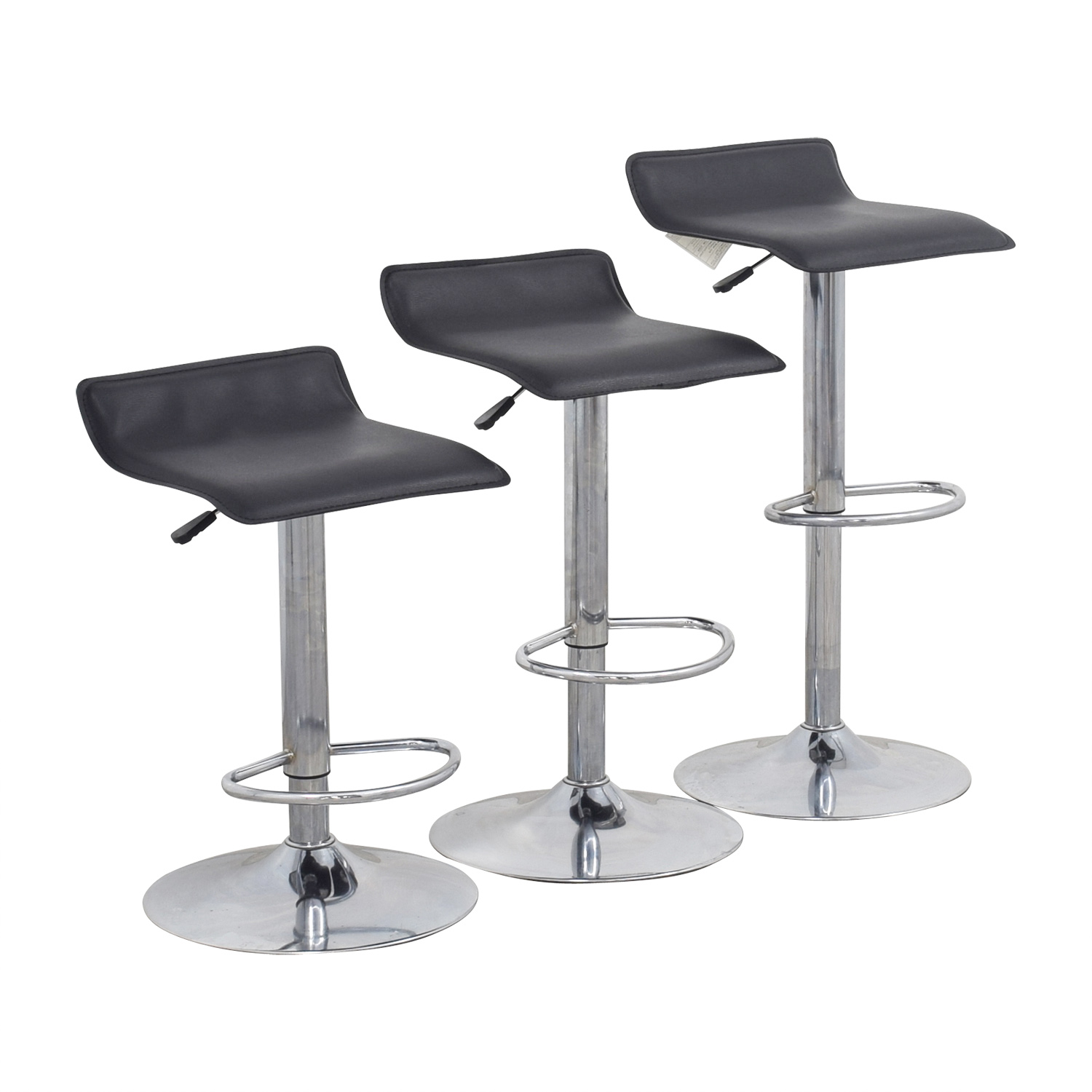 black chairs target under 100 2 88 off adjustable bar stools