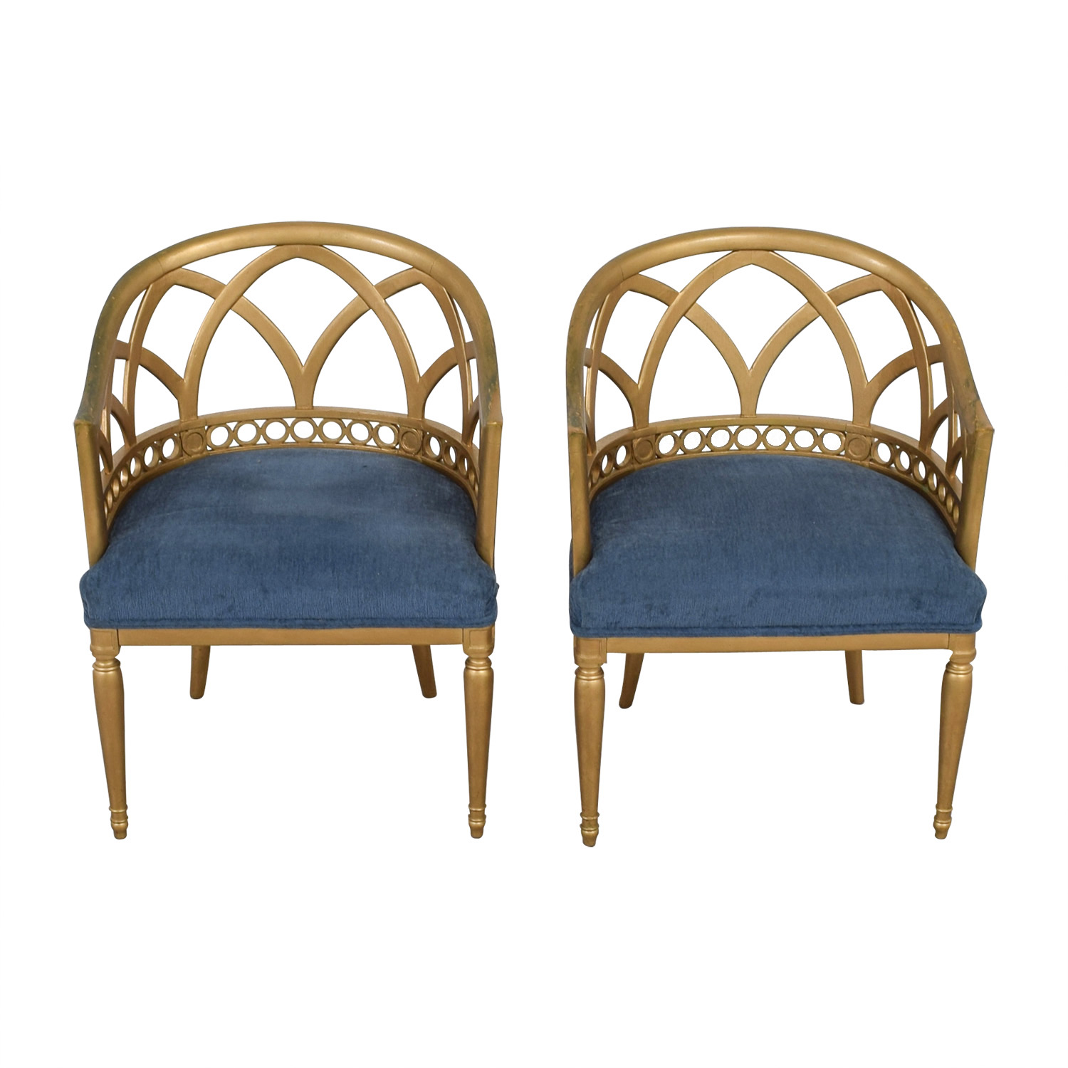 Gold Accent Chairs Chairs Used Chairs For Sale