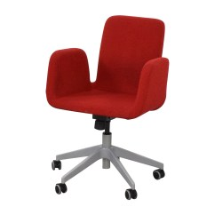 Rolling Chairs For Office Old Wooden Folding 51 Off Ikea Patrik Desk Chair