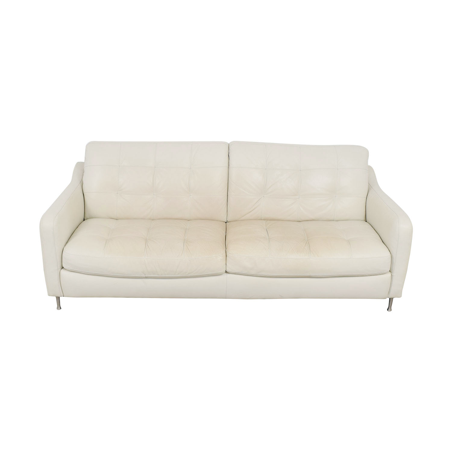 tufted leather sofa cheap suede slipcover sale