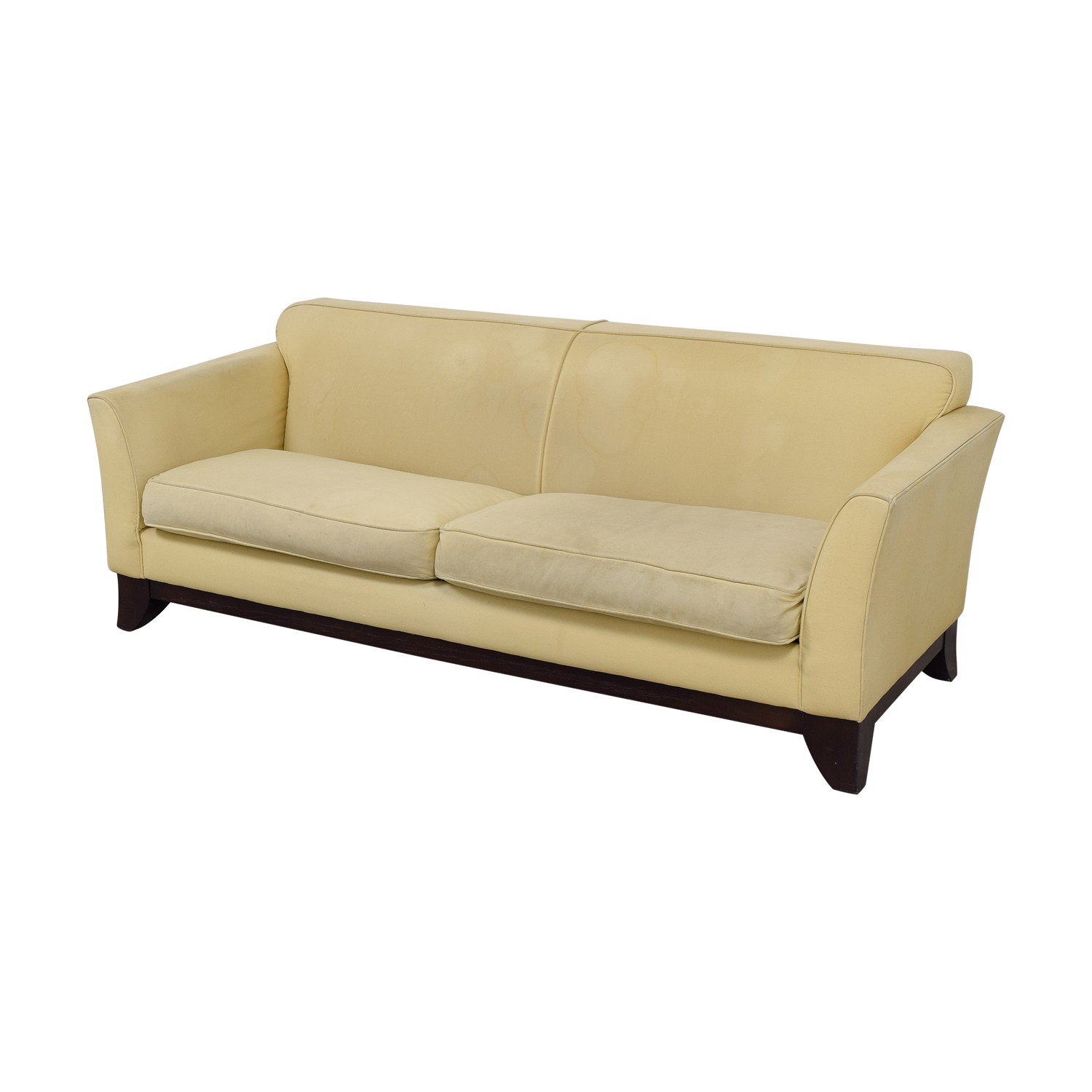 pottery barn sofa for sale by owner most comfortable sleeper sofas 90 off beige upholstered two