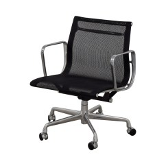 Eames Aluminum Group Management Chair Saddle Leather 73 Off