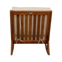 55% OFF - Safavieh Safavieh White Upholstered Wood Rocking ...