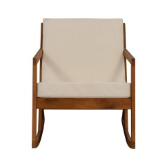 Accent Rocking Chairs 49ers Camping Chair 55 Off Safavieh White Upholstered Wood
