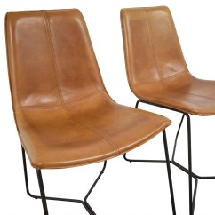 West Elm Chairs Dining Al Fresco Table And 46 Off Leather Slope