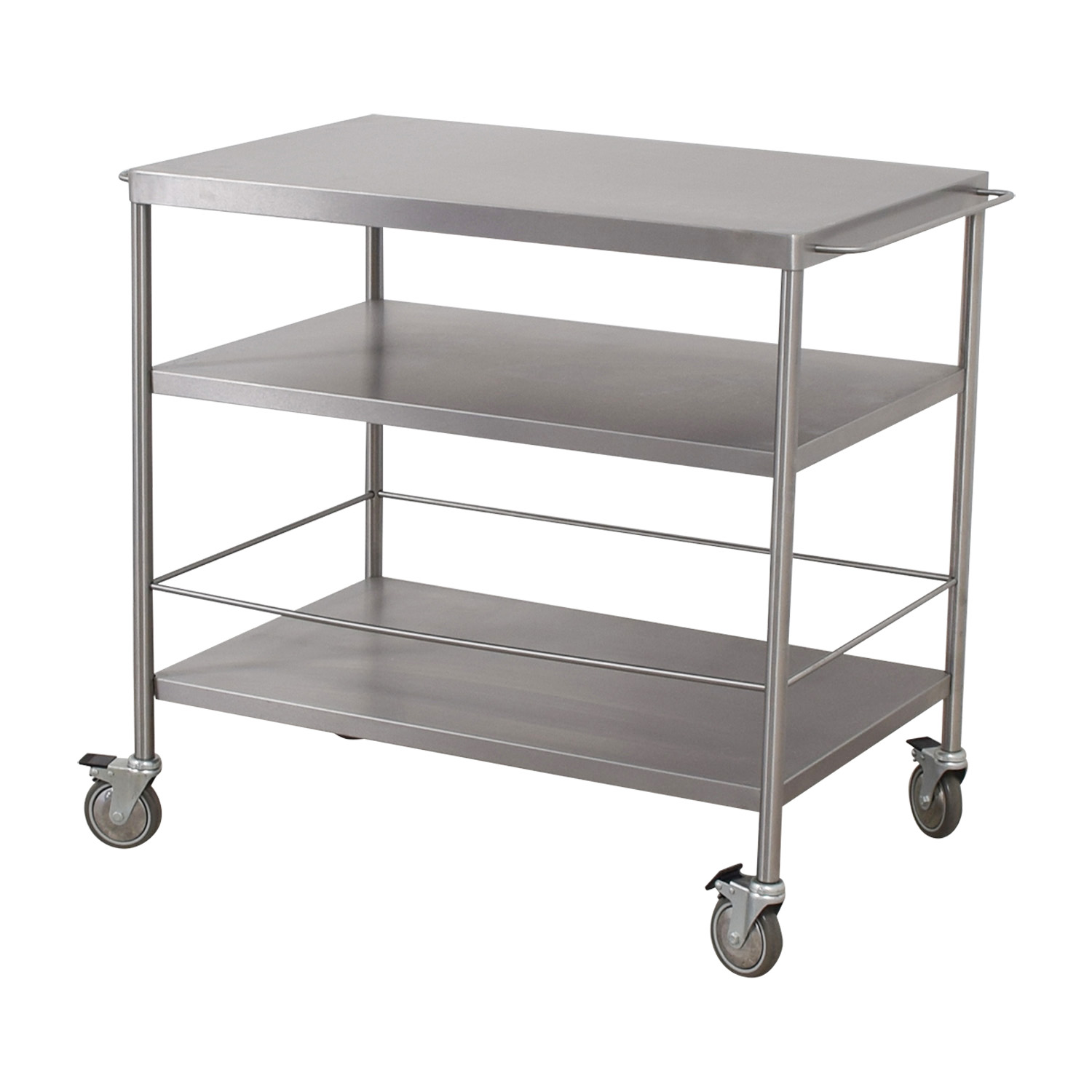 kitchen cart stainless steel whitewash table 59 off ikea tables