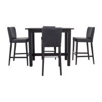 80% OFF - IKEA IKEA Bar Height Table and Stools / Tables