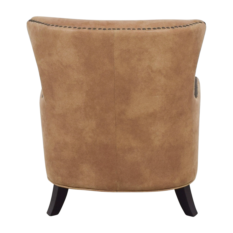 joss and main chairs chair swing hammock 90 off nola brown nailhead arm