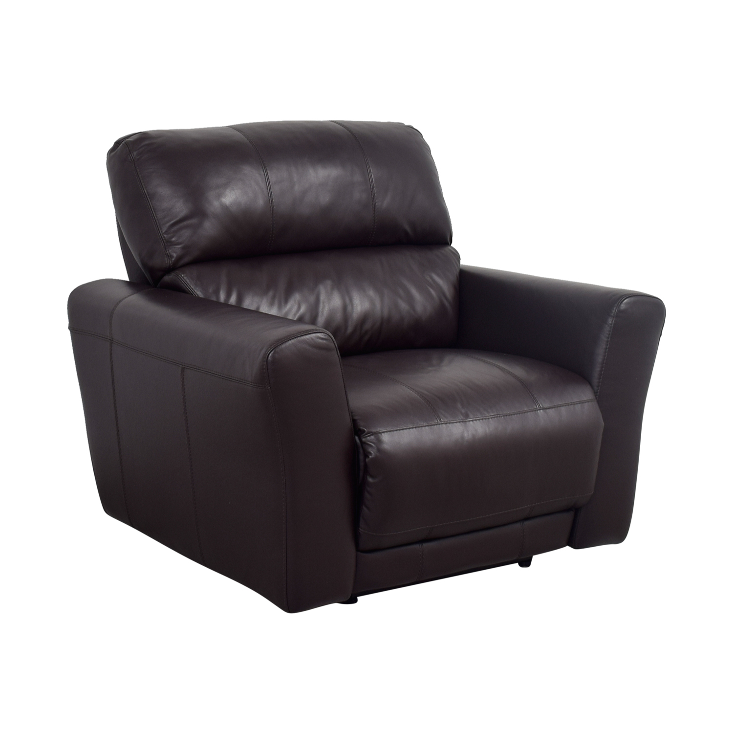 macy chairs recliners ergonomic chair for si joint pain 90 off macys chocolate leather recliner