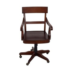 Swivel Chair Pottery Barn Restoration Hardware Dining Room Chairs 55 Off Wood Desk