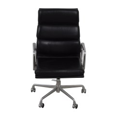 Best Ergonomic Chairs Under 500 All Weather Outdoor Chair Cushions 54 Off Eames Softpad Executive Black Leather