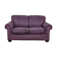 Fainting Sofa Purple Charcoal Grey Leather Second Hand