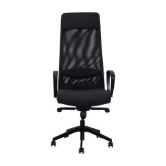 Desk Chair Ikea Vitra Eames 68 Off Black Office Chairs