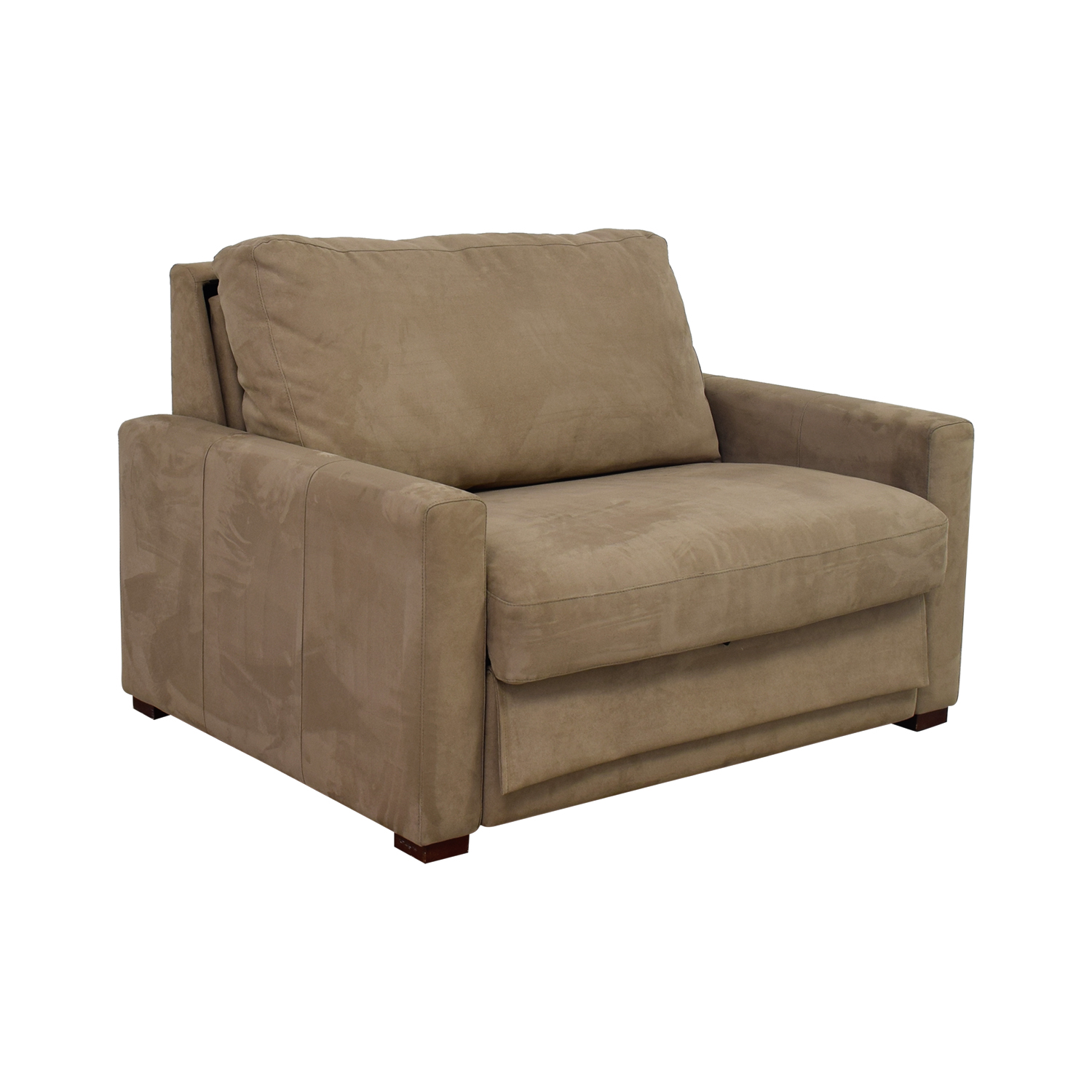 90 OFF  American Leather Comfort Sleepers Beige Accent