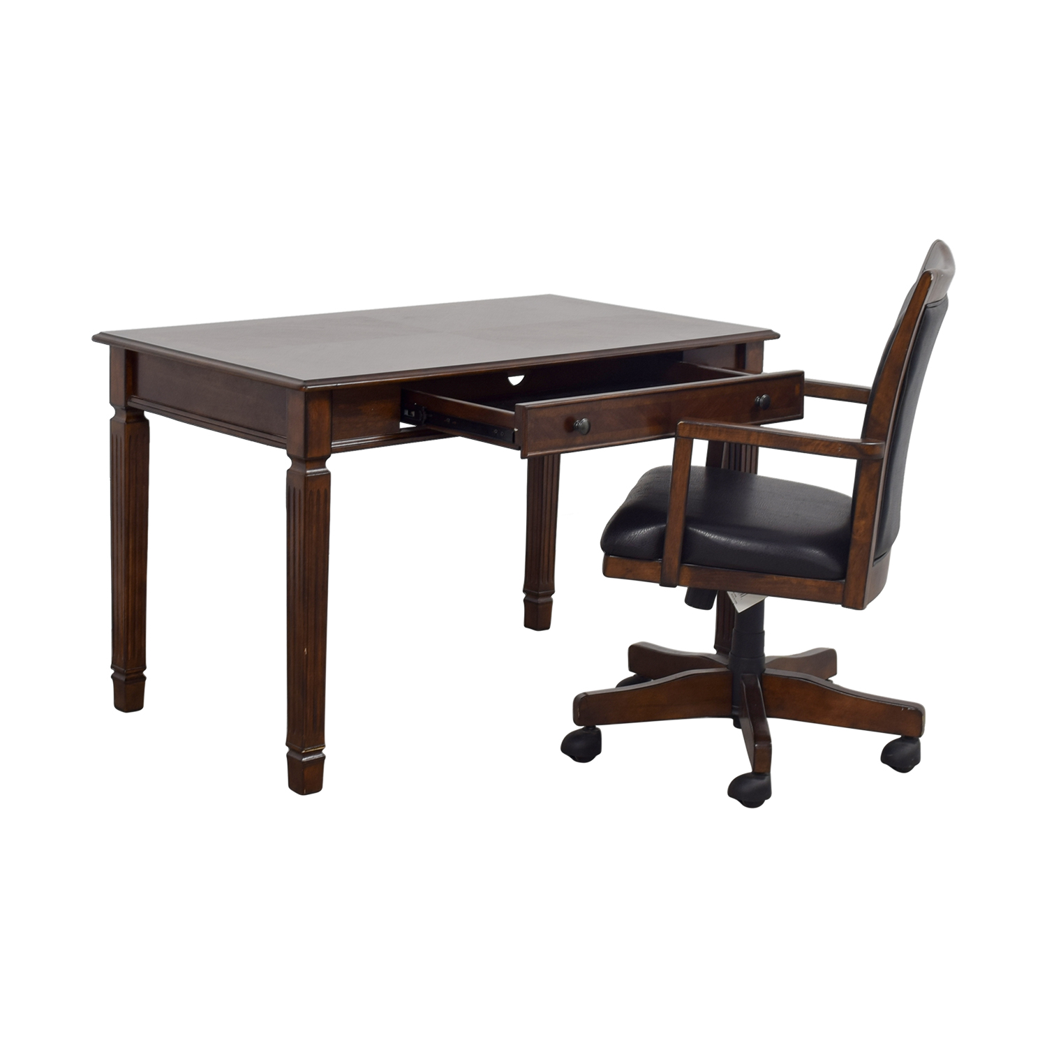 desk chair in store dining chairs and table sets 62 off ashley furniture