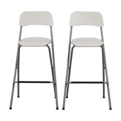 Ikea Bar Chair Sesame Street Table And Chairs 73 Off White Stools