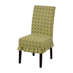 Pier One Blue Accent Chairs Cast Aluminum Outdoor 90 Off 1 Green Chair For Sale