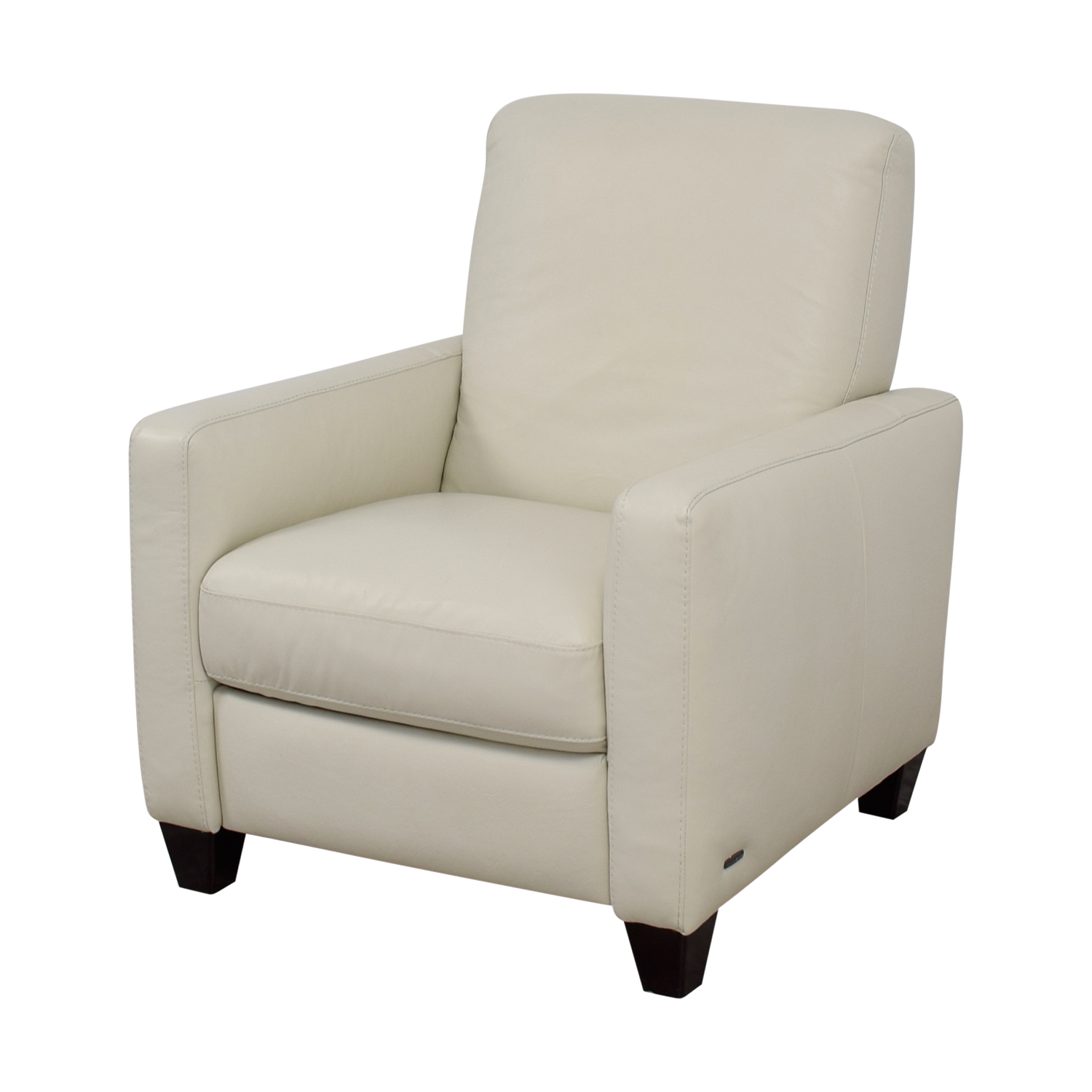 natuzzi lounge chair golden tech lift 69 off white leather recliner chairs