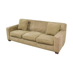 Crate And Barrel Sofa Cushion Replacement What Is A Sleeper In Hotel 90 Off Axis Ii Brown