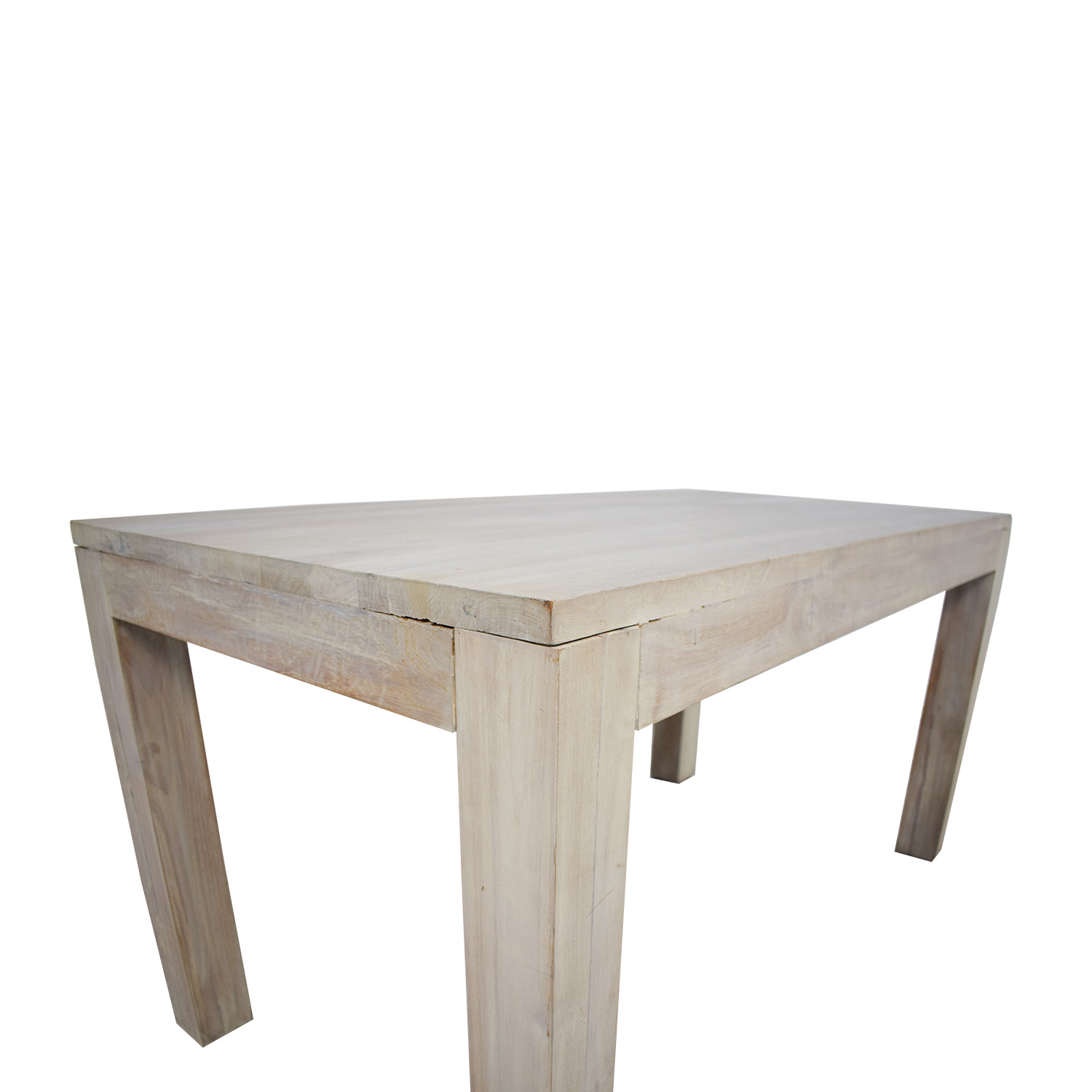 dining table and chairs hong kong antique white 68 off tree reclaimed raw oak