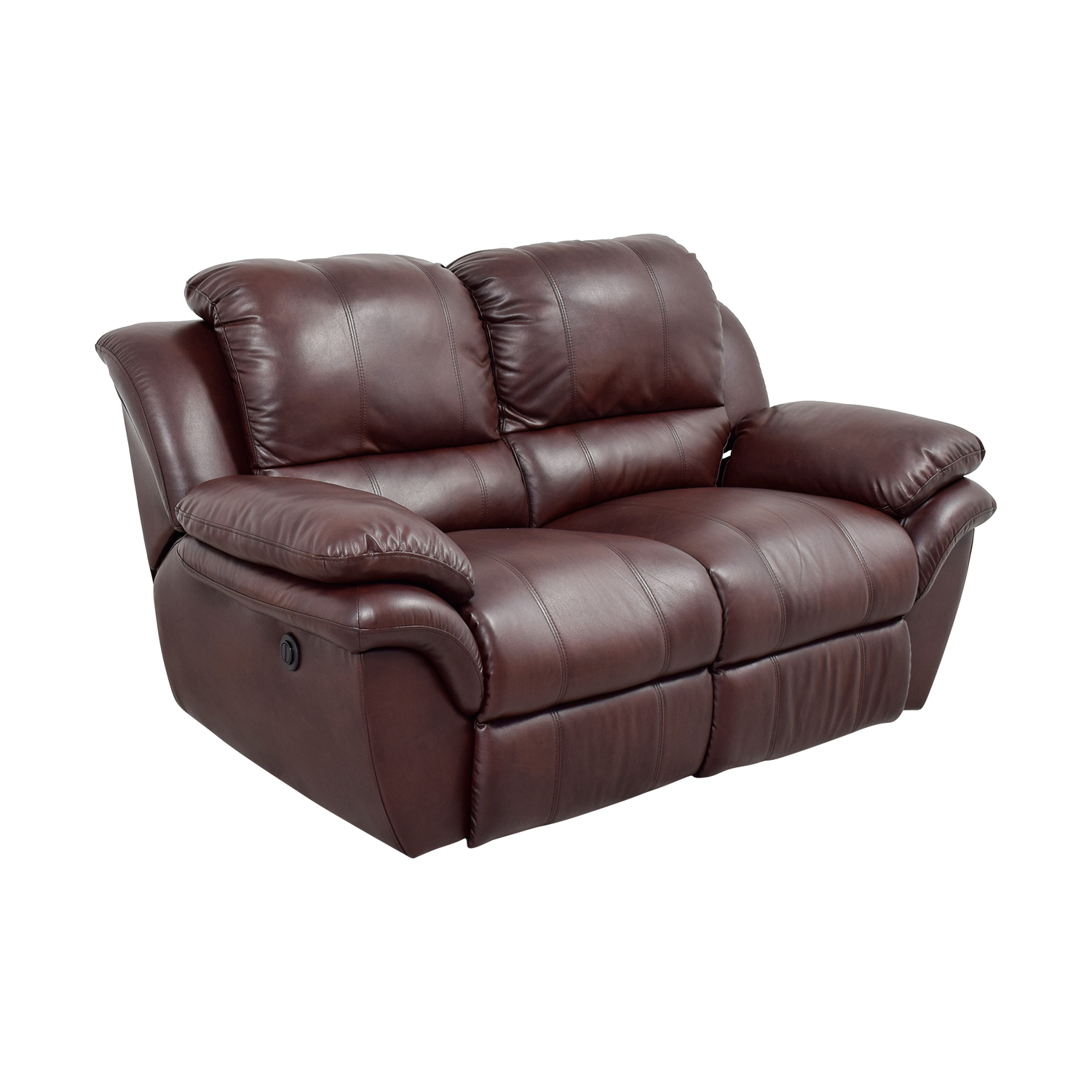 bobs furniture sofa recliner 3 piece sofas 78 off bob 39s brown leather