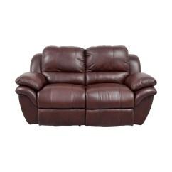 Bobs Furniture Sofa Recliner Deep Canada 78 Off Bob 39s Brown Leather