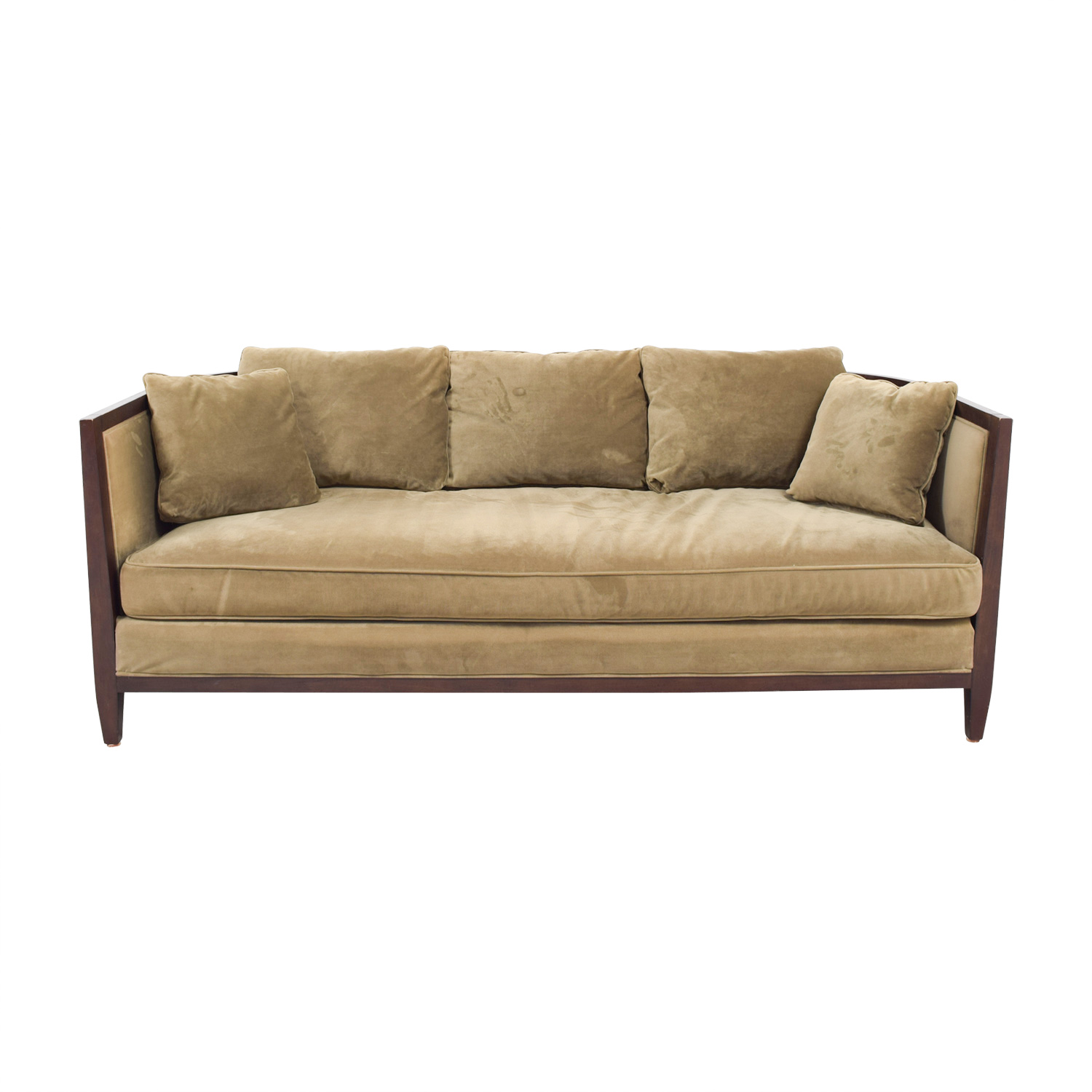 single cushion sofa pros and cons leather repair bloomingdales bed baci living room