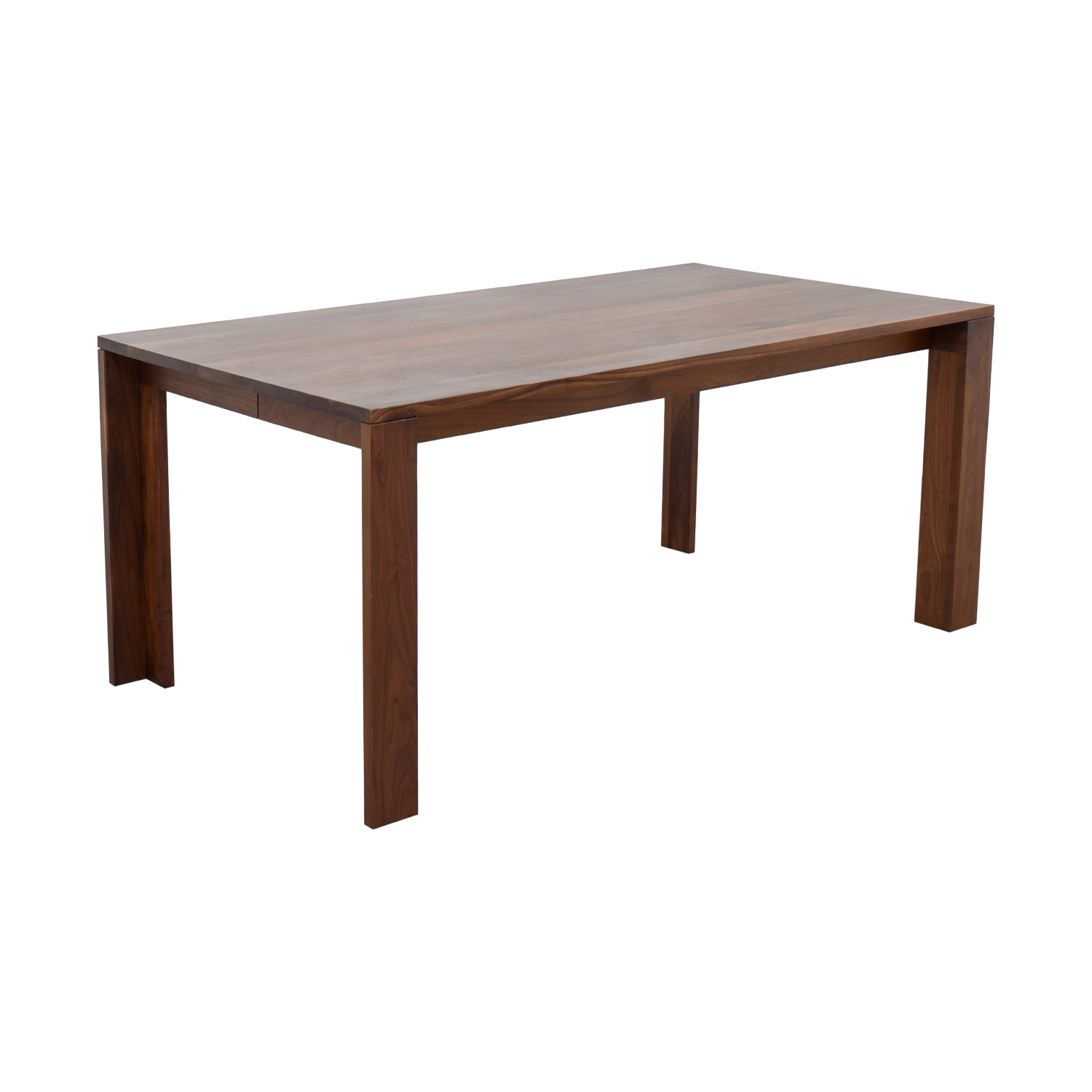design within reach chair walnut wayfair table and chairs 66 off dwr solid dining